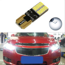 1x T10 W5W LED Clearance Light Marker Lamp Bulb Canbus Error Free For Chevrolet Cruze Aveo Captiva Lacetti Sail Sonic Camaro(China)