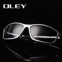 OLEY ماركة مصمم الألومنيوم المغنيسيوم الرجال الاستقطاب النظارات الشمسية الذكور القيادة نظارات اكسسوارات نظارات شمسية نظارات
