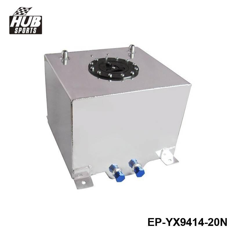 ФОТО Hubsports - Universal 20 Litre Fuel Surge Tank Swirl Pot System Alloy Aluminum EP-YX9414-20N