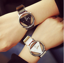 Luxury Brand Skeleton Watches Women 2016 Fashion Casual Ladies Wristwatches Quartz Watch