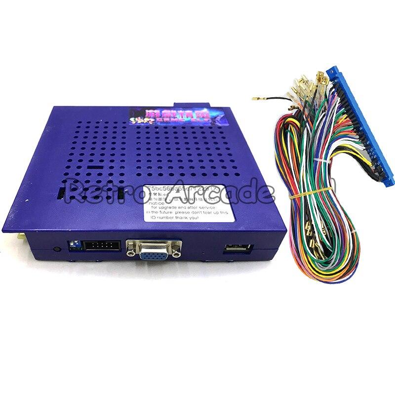 Free shipping Classical games GAME ELF 1162 IN 1 Board for CGA monitor LCD VGA horizontal