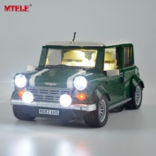 MTELE Brand High Quality LED Light Up kit For Technic Series Mini Cooper Light Set Compatible With 10242 (Not Include The Model) цена