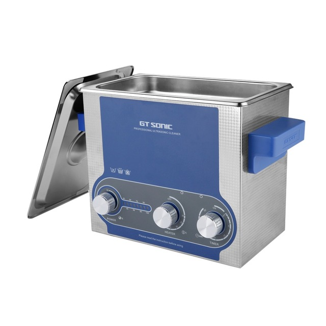 GT Sonic 3L Ultrasonic Cleaner Bath Cleaning Electronic Surgical Parts Timer Temperature Setting Cleaning Machine GT SONIC-P3