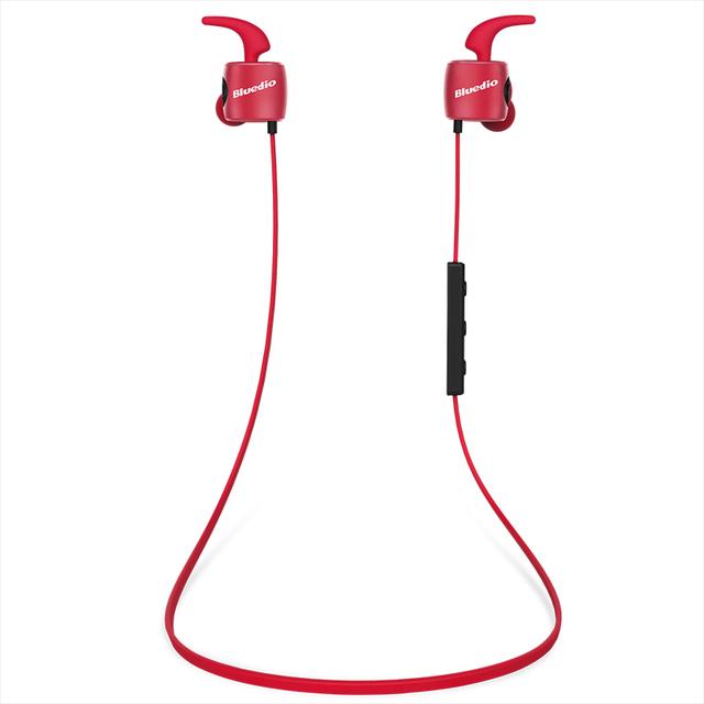 Te inteligente impermeable wireless sport auricular bluedio bluetooth 4.1 deportes estéreo en la oreja los auriculares con micrófono para xiaomi samsung mp3