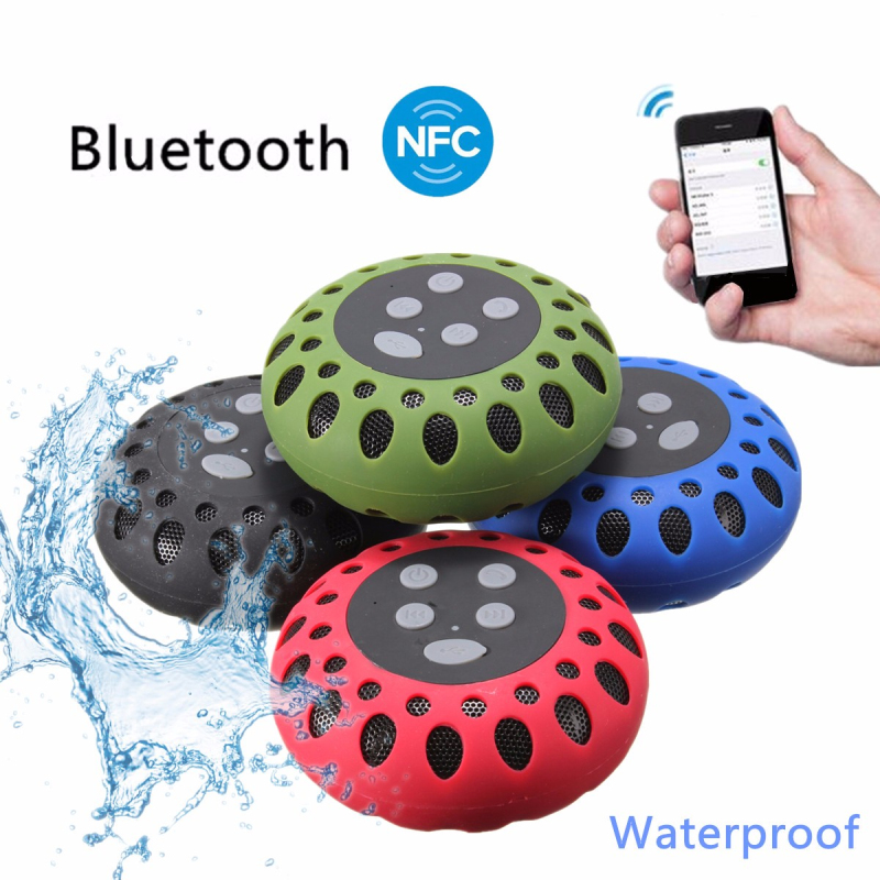 LEORY Fashion NFC Bluetooth Speaker Outdoor Wireless USB Waterproof Stereo Loudspeaker Super Bass Speakers Musics Play for Phone ttlife mini portable touch button bluetooth speaker support fm radio nfc tfcard wireless super bass loudspeaker