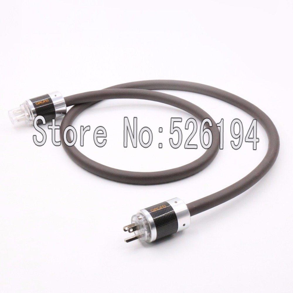 Free shipping hifi power cable with EU version connector plug Viborg Audio Power Cable Cord with Yarbo power cable  free shipping 1 5m viborg ac power cable audiophile power cord line with 24k gold plated eu version connector plug