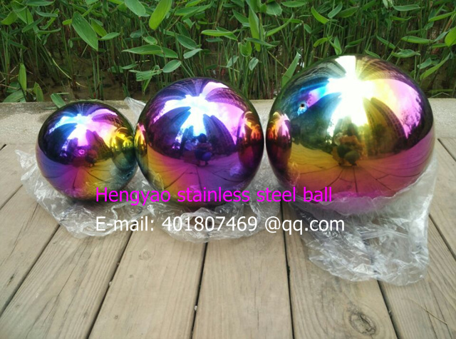 400 mm in diameter Seven color ball, Colorful color ball,hollow ball, decoration ball, decorative furnishing articles