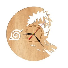 Naruto Design wooden Wall Clock