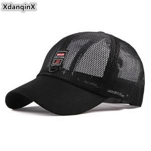 XdanqinX Mesh Baseball Cap Summer Adjustable Size Hats 944df171ac44