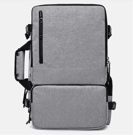 New Men Anti-theft Backpack Multi-function Three Use Teenager School Bags Male Simple Large Capacity Oxford Solid Backpack L432 2209 wholesale 2017 new spring and summer man casual backpack wave packet multi function oxford backpack