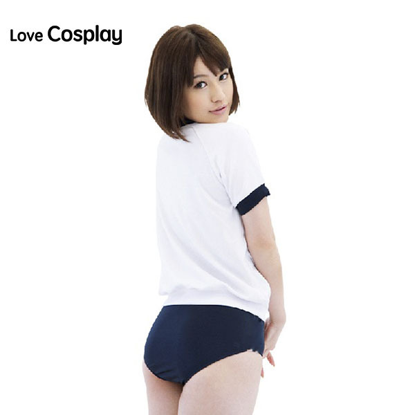 Japanese Anime Cosplay Costume T Shirts Add Pants Sportswear Sexy
