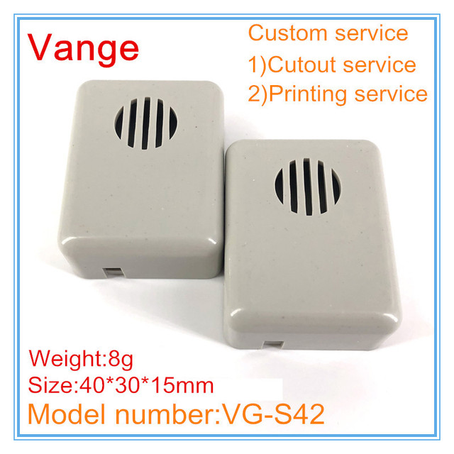 US $6 38 |10pcs/lot electronic enclosure project box IP54 ABS plastic case  enclosures for wire connector 40*30*15mm-in Wire Junction Boxes from Home