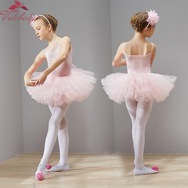 978e458961773 New Ballet Tutu Dress Girls Dance Clothing Kids Training Nylon Skirt  Costumes Gymnastics Leotards Wear