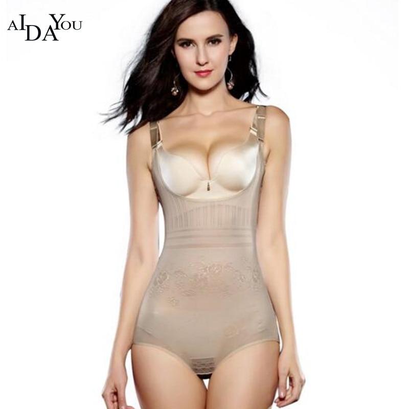 Women Body Shaper Slimming Underwear Bodysuit Waist Trainer Slimming Corset Shapewear Hot Shaper Control Pants ouc2654
