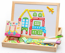 toys for children Bag mail, animal puzzle, city spell spell, magnetic alphanumeric puzzles, the new puzzle four models.