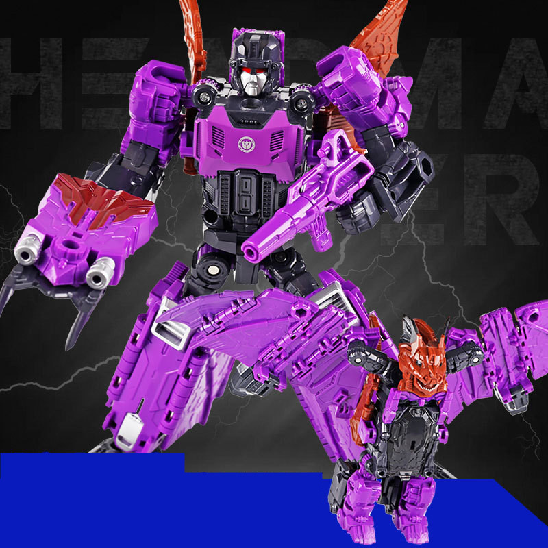 WEI JIANG New Cool Anime Transformation Toys Robot Cars Super Hero Action 3C Plastic Kids Toys