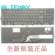INSPIRON15-500015M HEB-US backlight teclado do laptop Original para DELL 5542 5543 5545 5547 5548 5558 5559 5555/w backlit