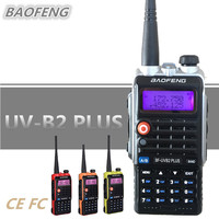 BAOFENG 8W UV B2 PLUS Walkie Talkie 4800mAh UHF VHF Amateur Portable Mobile Ham CB Radio Scanner HF Transceiver Woki Toki UV 5R
