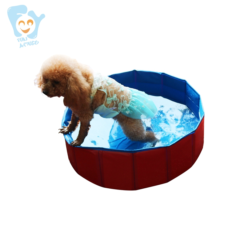 60x20cm pliable petit chien piscine Pet chat piscine bébé Portable baignoire piscine Portable lavabo