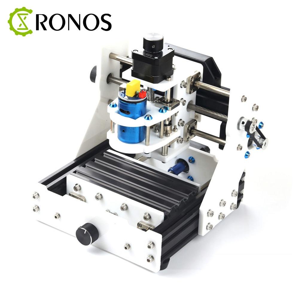 Mini CNC Laser Eleksmill 0.5-2.5 w 3 axes USB défonceuse numérique de bureau