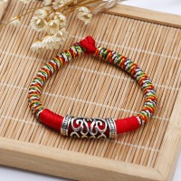 צמיד מבד לנשים עבודת יד - 16-5cm