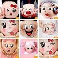 Venta al por menor de Lactancia Pegatinas Vientre Lindo accesorios de Fotografía Accesorios de Mujer Embarazada Cara Sonriente Pegatinas de la Momia de Maternidad Del Vientre