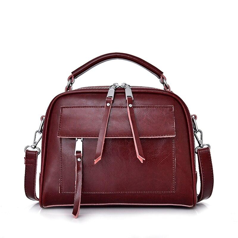 Women Genuine leather Bag Handbags Fashion Women Shoulder Bag Large Tote Crossbody Bags For Women 2019
