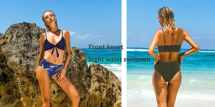 RUUHEE Bandeau Bikini Swimwear Women Swimsuit Sexy Ruffle Bikini Set Push Up Bathing Suit Female Brazilian Leopard Swimsuit 2019