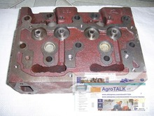 Xinxiang Huanghe XN2100 parts, the cylinder head for Jinma, Weituo series tractor