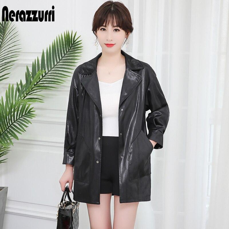 Nerazzurri High quality   suede   jacket women snake print jacket black drop shoulder   leather   jacket women plus size outwear 5xl 6xl