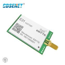 433 mhz ax5243 transceptor rf módulo de longa distância 33dbm cdsenet E31-433T33D uart sma macho 2 w 433 mhz rf transmissor e receptor