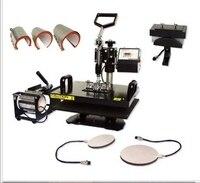 heat press machine 8 in 1 combo heat press machine cap heat press machine For Plate/Mug/Cap/TShirt /Phone case