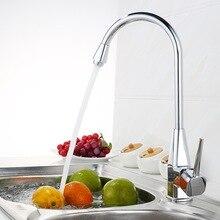 Бесплатная доставка новая кухня tap хромированный одной ручкой розничная кухонный кран кухонный кран BR-9113