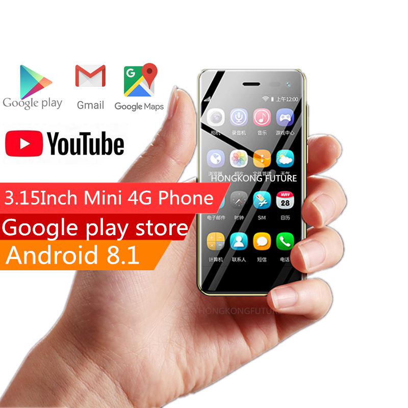 2019 Smallest phone Ulcool U2 3 15 Inch Android 8 1 Smartphone MT6739 1GB 8GB Telephone