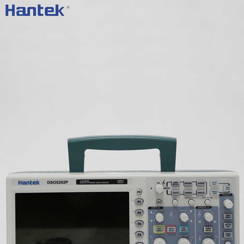 Hantek DSO5202P stockage numérique Ooscilloscope 200MHz 2 canaux 1GSa/s 7 ''TFT LCD longueur d'enregistrement 40K USB Osciloscopio Portable