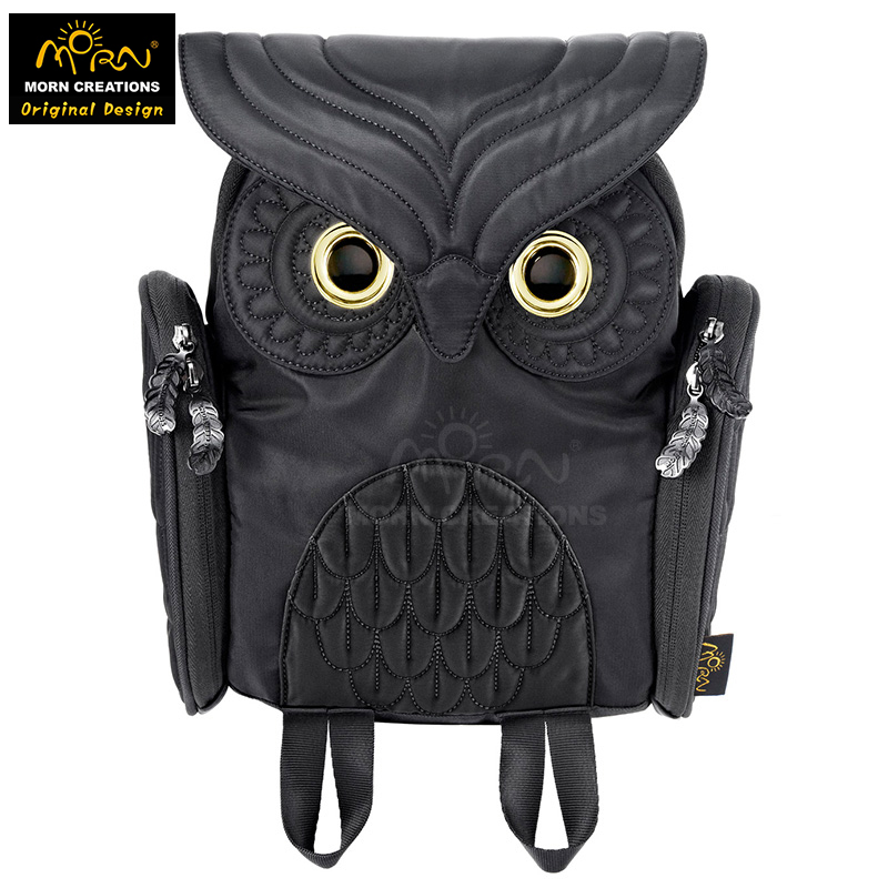 Hong Kong Original Design Morn Creations Owl Kids Shoulder Bag Children Backpack OW-303-S
