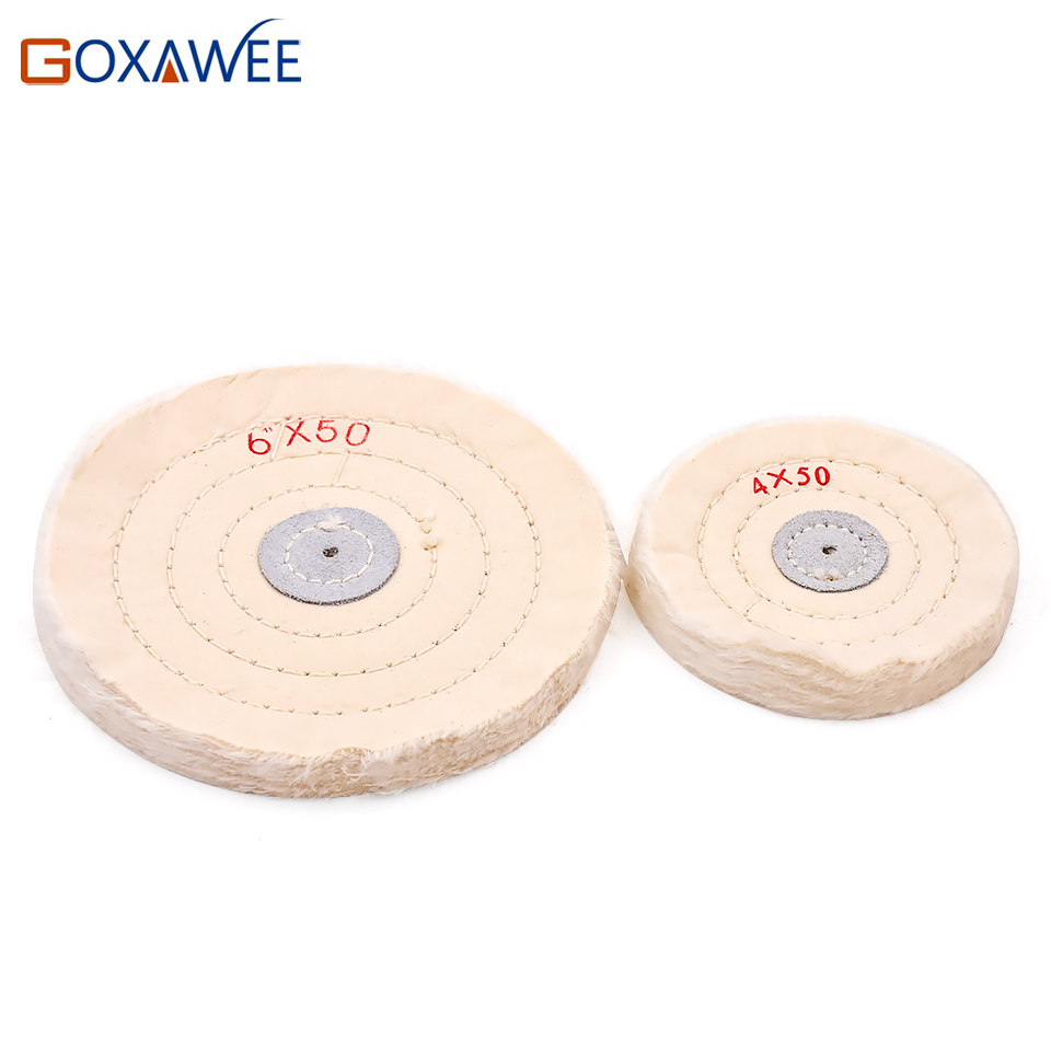 2pcs 4 Quot 6 Quot Buffing Polishing Wheels For Foredom Bench