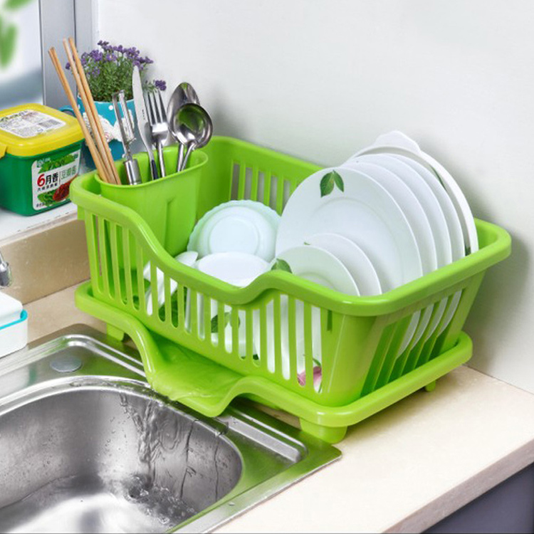 new year Bowl storage box shelf cupboard plastic drip bowl rack wankuai drain rack Holders Racks in Storage Holders Racks from Home Garden