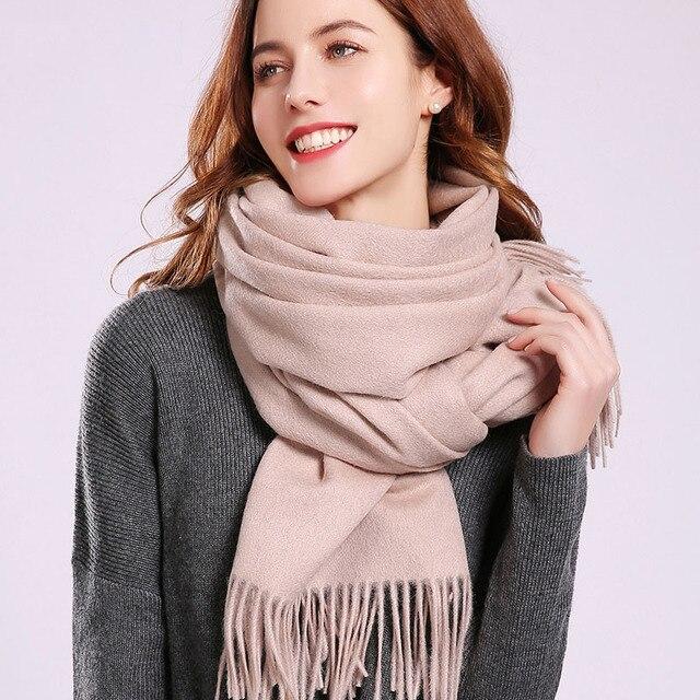 Women Wool Scarf Winter...