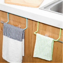 Toalla Rack de Almacenamiento Titular Colgando Paño De Limpieza Trapo de Cocina Puerta Trasera Soportes Para Accesorios de Cocina Baño