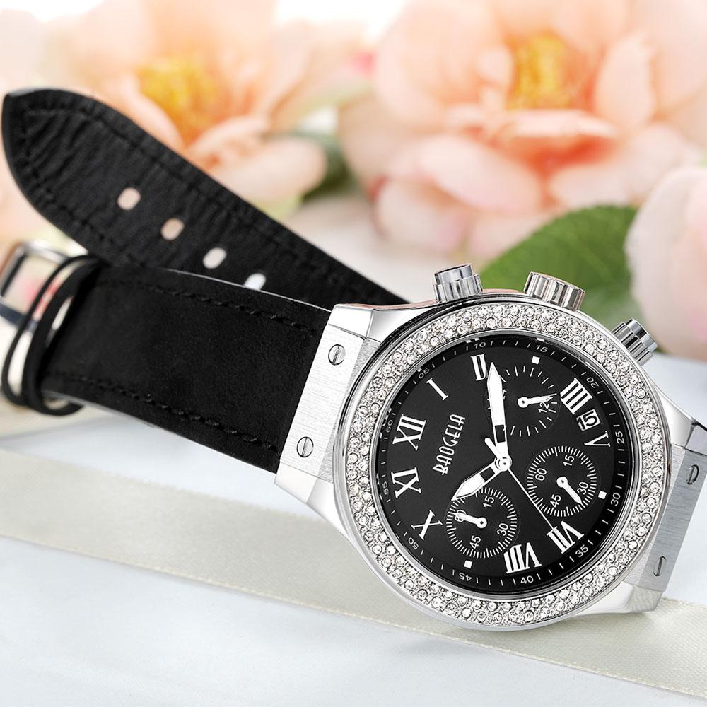 лучшая цена BAOGELA Watch Womens Casual Fahsion Watches Waterproof Quartz Multifunction Wrist Watch