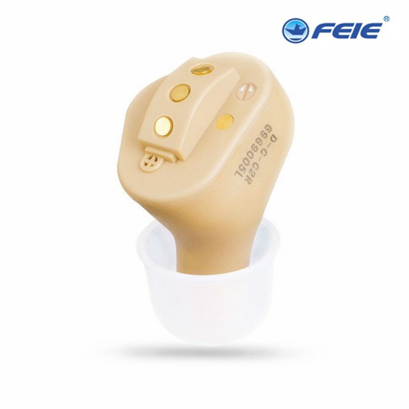 Rechargeable Digital Invisible Hearing Aid S-51 Best Sound Enhancement Earplug Amplifer CIC In The Ear A Kit Double Piece acosound invisible cic hearing aid digital hearing aids programmable sound amplifiers ear care tools hearing device 210if