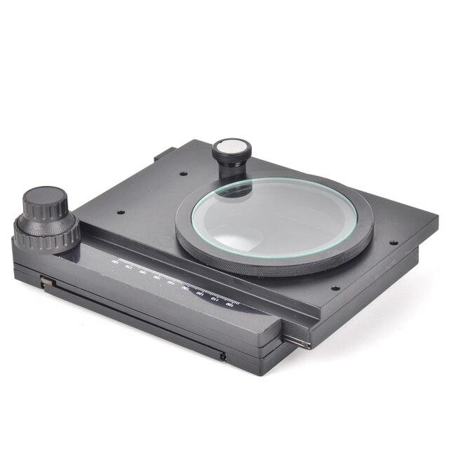 Rotativo Fase XY XY Bem-ajustado para Industrial Câmera Estéreo Microscópio Micrômetro de Precisão Plataforma Móvel Tabela de Atividade
