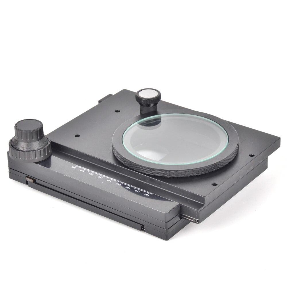 XY di Fine-tuned Rotante XY Fase per Macchina Fotografica Industriale Microscopio Stereo Precisione Piattaforma Mobile Micrometro Tabella di Attività