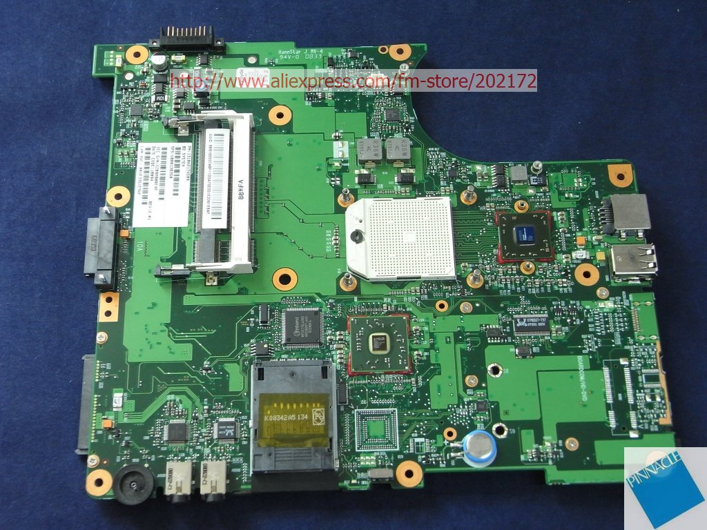 V000138350 Motherboard for Toshiba Satellite L300D L305D 6050A2174501 motherboard for toshiba satellite l300d l305d v000148410 6050a2323101 100% tested good with 60 day warranty