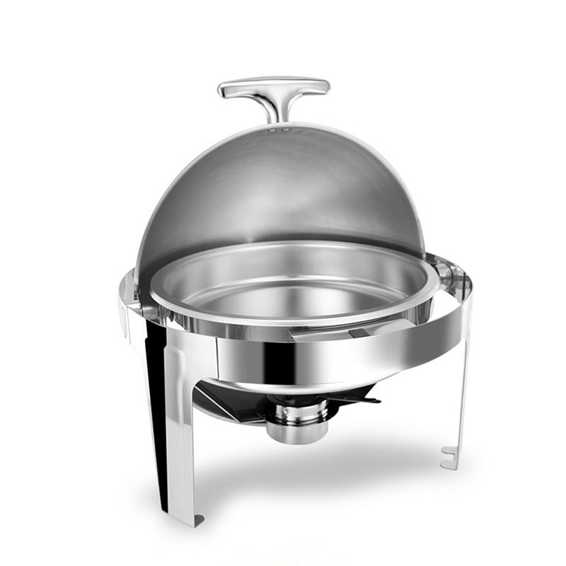 hot sale stainless steel flip round chafing dishchina