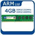 Быстрая доставка Новый Dimm DDR3 RAM памяти DDR3 4 ГБ/2 ГБ Поддерживает Некоторые AMD Desktop 1333 1600 МГЦ 240-конт 4 ГБ Memoria Пожизненная Гарантия