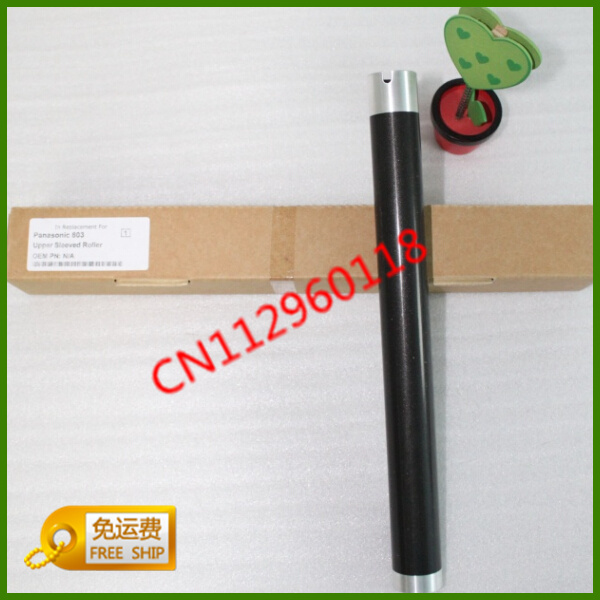New 2pcs/lot Compatible Upper Fuser Pressure Roller  For Panasonic 228 238 258 778 788 803 853 Printer Spare Parts Free Shipping apply panasonic kx fac 294 cn compact mb 228 cn 788 778 94 e 92 e 258 toner cartridge ink cartridge