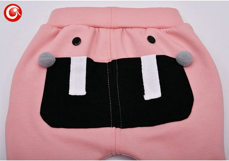 7-24M Baby Winter Tights For Boys Warm Plushed Kids PP Pants For Girls Infantil Bebes Thicken Trousers Clothes 2016  (17)