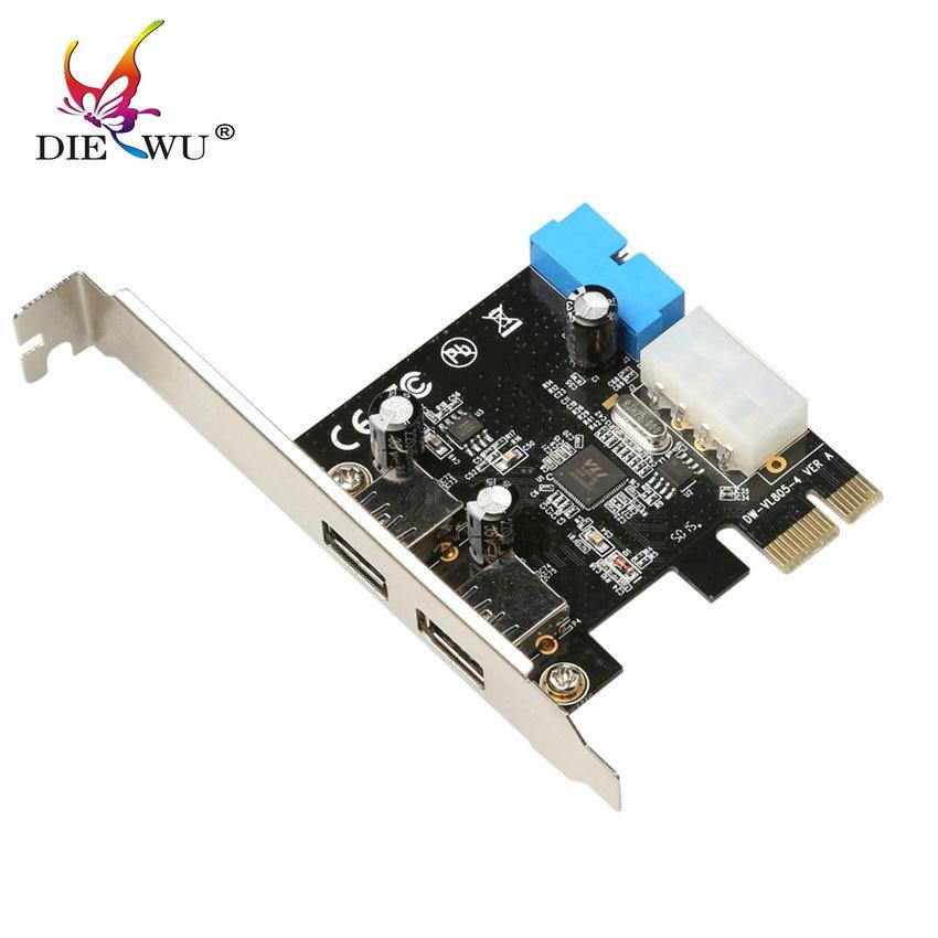 Great-Q SuperSpeed 2 puertos USB 3.0 19-pin USB3.0 PCI-E PCI - Componentes informáticos - foto 2